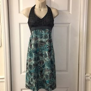 Athleta Pack and Go halter dress. Size 6